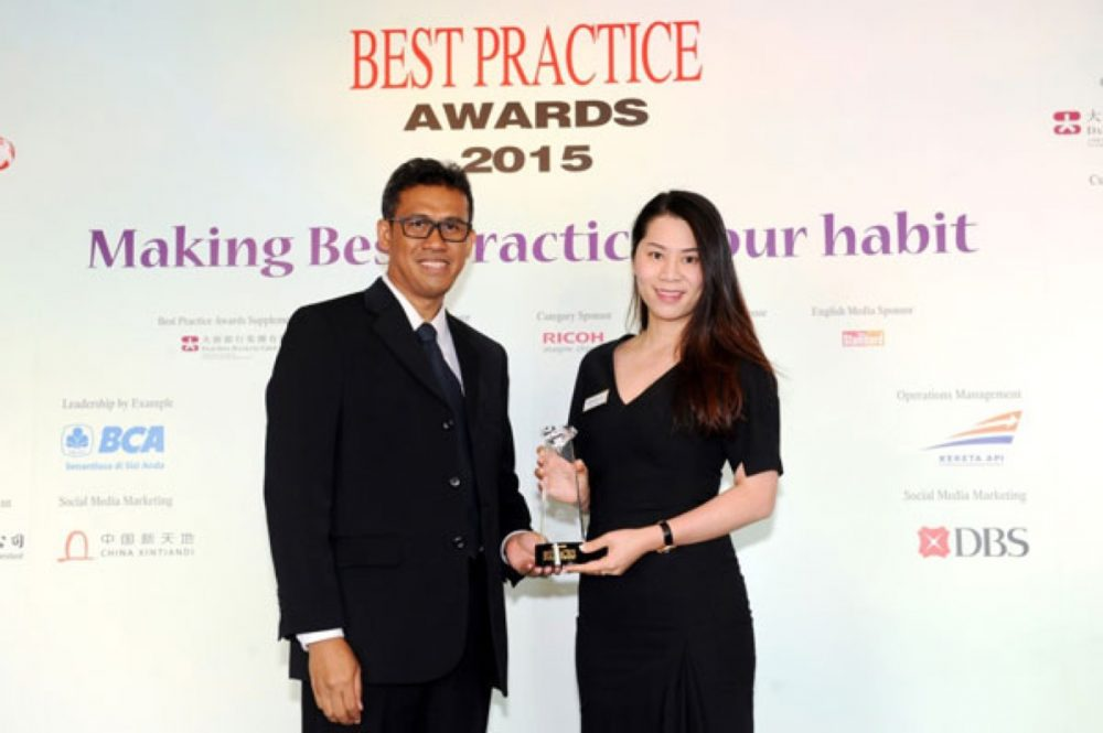 """中国新天地荣获Best Practice Awards 2015 """"最佳社交媒体奖"""""""