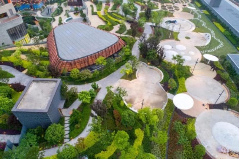 首个公园式购物中心亮相江城,武汉天地壹方北馆打造中高端家庭社交空间